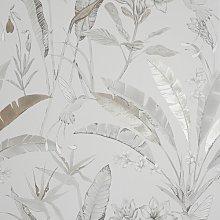 Moonya 10.05m x 53cm Wallpaper Roll Mercury Row
