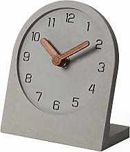 mooqs Wooden Silent Non-Ticking Battery Operated