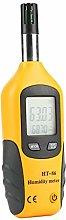 Mootea Humidity Temperature Meter,Digital Yellow