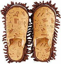 Mop Slippers 2 Pairs Of Dust Cleaner House Floor