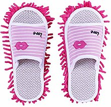 Mop Slippers 2 Pairs Of Slippers Lazy Home Mopping