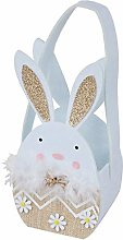 Mopec Felt Basket Rabbit Gold Ears 27 cm (Handle