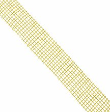 Mopec S411.40.06 Jute Ribbon, 40 mm x 20 m,