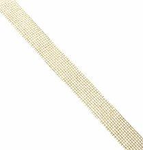 Mopec S411.40.11 Jute Ribbon, 40 mm x 20 m, Gold,