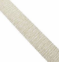 Mopec S411.80.11 Jute Ribbon, 80 mm x 20 m, Gold,
