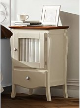 Moraine 1 Drawer Bedside Table August Grove