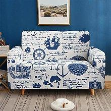 Morbuy 3D Ocean Sofa Cover for 1 2 3 4 Seater Sofa