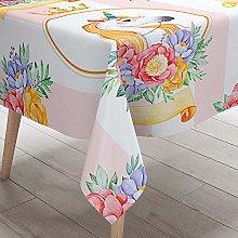 Morbuy 3D Unicorn Print Waterproof Table Cloths