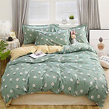 Morbuy Bedding Duvet Cover Set 4pcs for Double