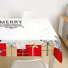 Morbuy Christmas Tablecloths Rectangular Xmas