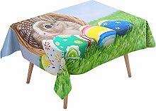 Morbuy Easter Egg Tablecloth, Tablecloths
