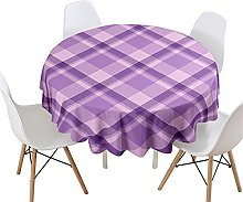 Morbuy Round Tablecloth for Circular Table, Simple