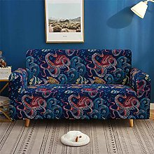 Morbuy Sofa Cover for 1 2 3 4 Seater, 3D Marine