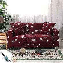 Morbuy Sofa Slipcovers Floral Print Comfortable