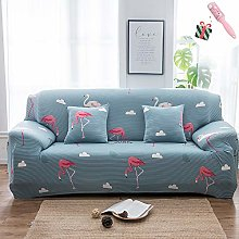 Morbuy Sofa Slipcovers Small Fresh - Plant Print