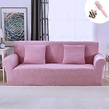 Morbuy Sofa Slipcovers Solid Color Plain Home