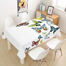 Morbuy Table Cloths Rectangular Waterproof, 3D