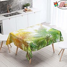 Morbuy Table Cloths Rectangular Waterproof, 3D