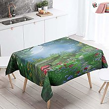 Morbuy Tablecloths Rectangular Square Waterproof