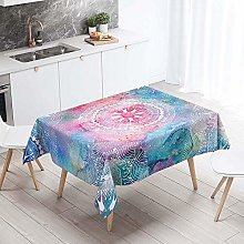 Morbuy Tablecloths Rectangular Wipe Clean