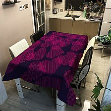 Morbuy Waterproof Table Cloths Rectangle,