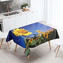 Morbuy Waterproof Table Cloths Rectangle