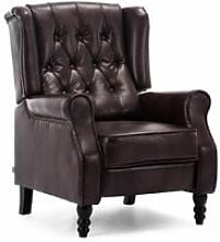 More4homes - ALTHORPE LEATHER RECLINER CHAIR -
