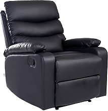 More4Homes ASHBY BONDED LEATHER RECLINER ARMCHAIR