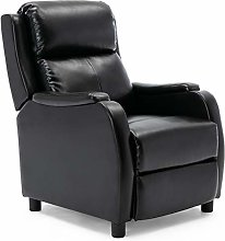 More4Homes CHURWELL BONDED LEATHER PUSHBACK