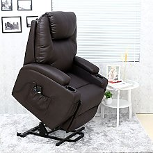 More4Homes CINEMO ELECTRIC RISE RECLINER MASSAGE
