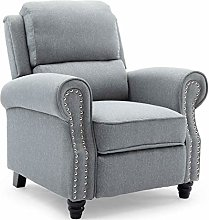 More4Homes DUXFORD FABRIC PUSHBACK RECLINER