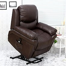 More4Homes MADISON ELECTRIC RISE RECLINER BONDED