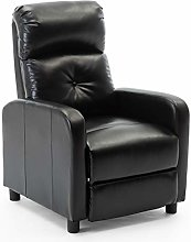More4Homes MILTON MODERN FAUX LEATHER PUSHBACK