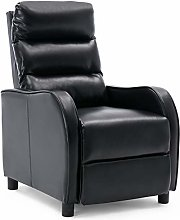 More4Homes SELBY BONDED LEATHER PUSHBACK RECLINER