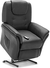 More4Homes WINDSOR ELECTRIC RISE RECLINER BONDED