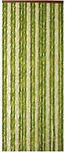 Morel chen.flash Door Curtain 90 x 220 Green/Beige