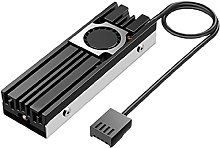 moreoustitory M.2 2280 SSD Heatsink Cooler with