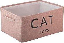 Morezi Canvas Storage Basket Bin Chest Organizer -