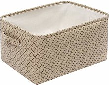 Morezi Canvas Storage Basket Toy Bin Organizer