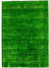 Morgenland Tapis Rug, Green, 200x80x1.4 cm