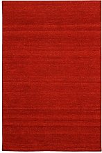 Morgenland Tapis Rug, red, 140x70x0.7 cm
