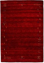 Morgenland Tapis Rug, red, 350x80 cm