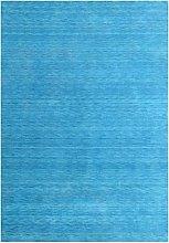 Morgenland Tapis Rug, Turquoise, 350x80x1.5 cm