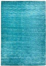 Morgenland Tapis Rug, Turquoise, 400x80x1.8 cm