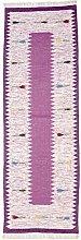 Morgenland Tapis Rug, Violet, 250x80x0.7 cm