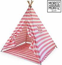 Moritz & Moritz Teepee Tent For Kids - kids tent