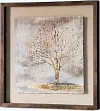 Morning Mist II - Framed Print, 64 x 64cm,