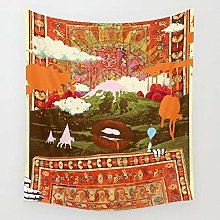 Morning Tapestry Wall Hanging Beach Throw Rug