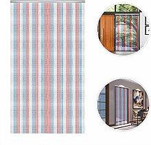 MorNon Curtain Fly Door Screen 36x84in Aluminium
