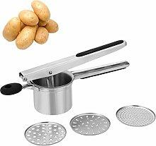 MorNon Potato Ricer Stainless Steel Potato Masher